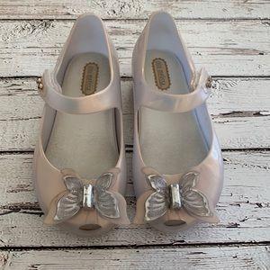 Mini Melissa mary jane jelly shoes 9